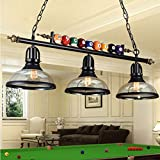 iMeshbean Pool Table Lights Fixture for