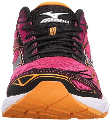 Mizuno Wave Catalizador de la mujer running Shoe Purple-silver-orange