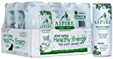 ASPIRE Healthy Energy, Calorie Burning, Zero Calorie, Zero Sugar Drink Apple + Acai 12 count case