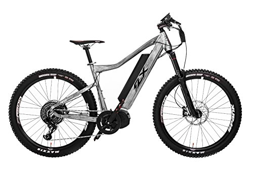 FLX Blade Electric Bicycle, Electric Mountainbike with Suspension, Powerful Motor, Long-Lasting Battery, and Wide Range