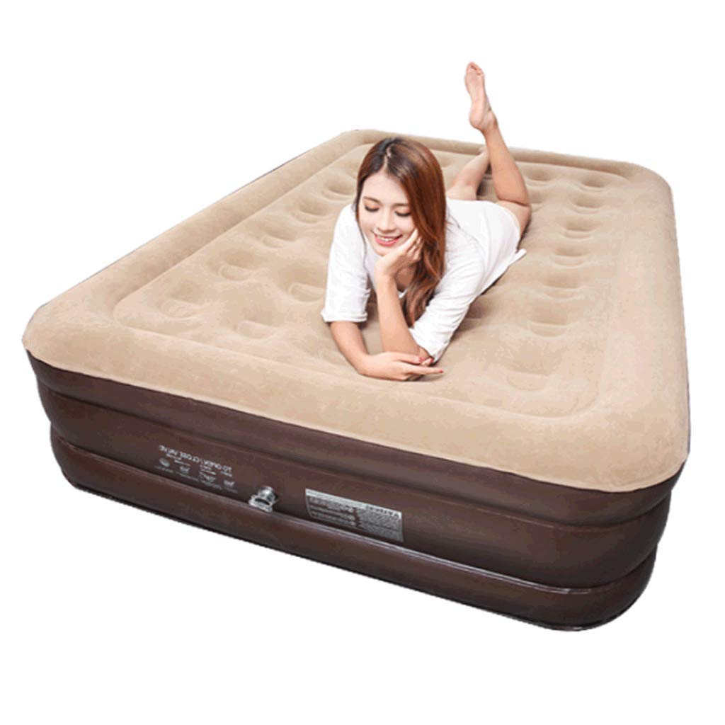 Lilongjiao Thickened Air Mattress Inflatable Bed Home Single Air Bed Lunch Break Outdoor Bed Air Bed Siesta Bed - Foldable Convenient Outdoor Travel Carrying
