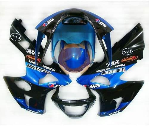 Liquor for Kawasaki Ninja ZX6R ZX-6R 2003 2004 Blue Brand New Motorcycle ABS Plastic Painted Injection Mold Bodywork Fairing Kit Set