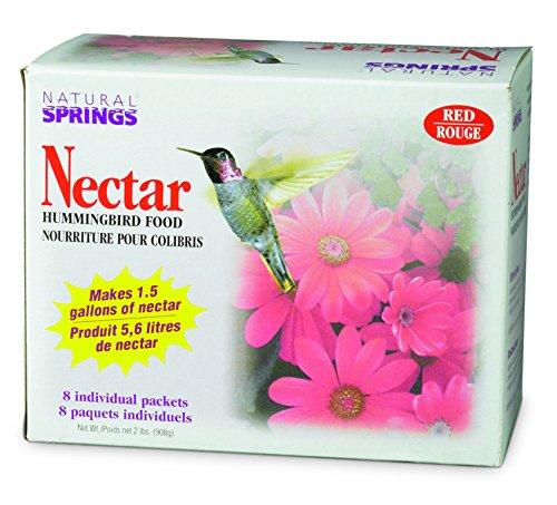 (Natural Springs 100080611 Hummingbird Nectar Powder Boxed 2lb, 2 lb, Brown/A)