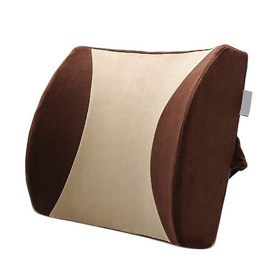 Cojín del asiento Almohadilla de soporte lumbar para ...