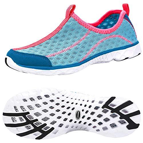 - Slip On Sneakers for Women, Aqua Water Sneakers Carolina/Pink 9.5 B(M) US