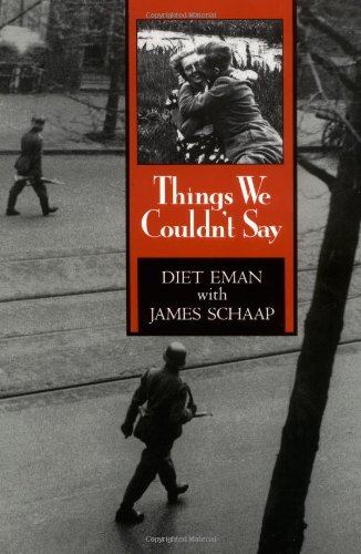 Things We Couldn't Say by Wm B Eerdmans Publishing Co.