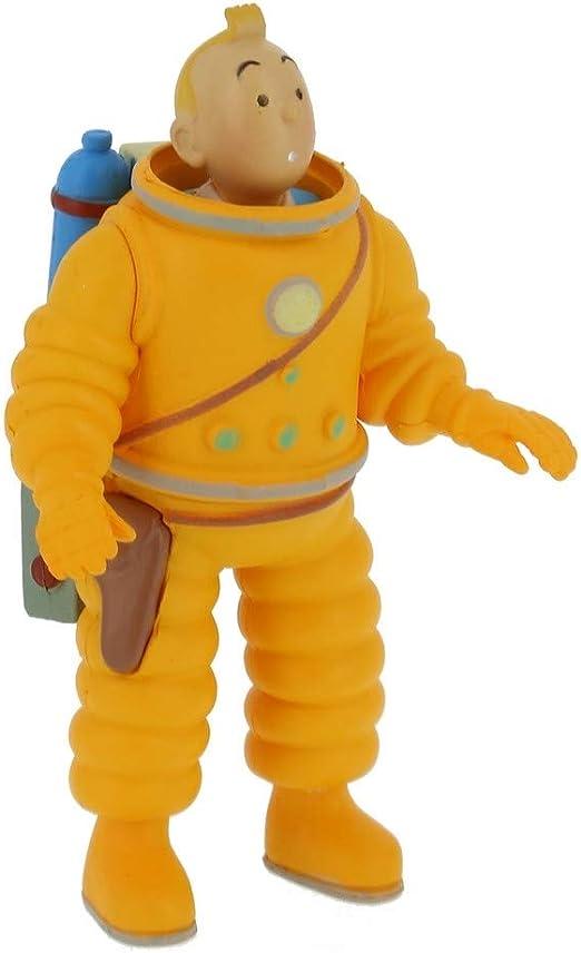 2014 Figura de colección Tintín Milú cosmonauta 9cm Moulinsart 42187