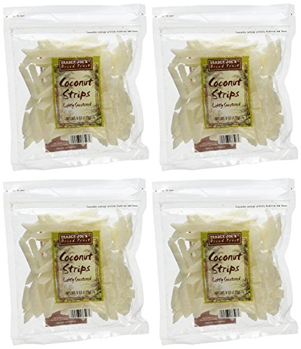 Trader Joes Coconut Strips Pack