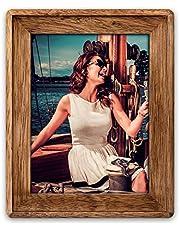Zep BM5946 Trevor fotolijst van hout, bruin, voor tafel of muur