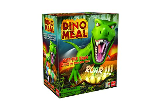 Dino Meal -- The Steal the Eggs Before the Dinosaur Lunges Game from Goliath Games