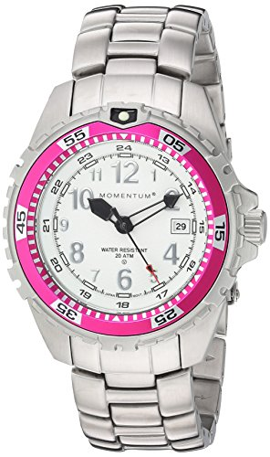 Momentum 'M1 Twist' Quartz Stainless Steel Diving Watch, Color:Grey (Model: 1M-DV11WM0) (Momentum Twist M1)