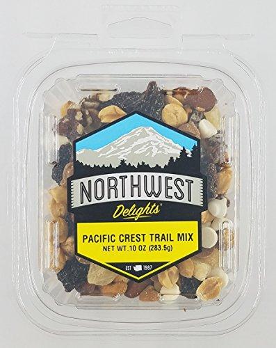 Pacific Crest Trail Mix 10oz: Peanuts, Raisins, Date Pieces, Pineapple, White Chocolate & Peanut Butter Chips, Almonds, Cashews, Walnuts ()