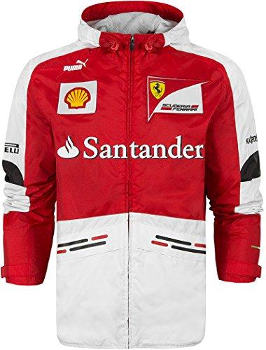 Puma Ferrari Formula One Team Hooded Jacket (Medium, Ferrari Formula One Team - Red)