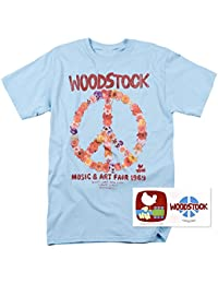Woodstock Peace Symbol T Shirts & Exclusive Stickers