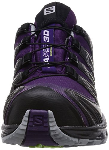 Walking Shoes and Violett XA Purple Black Granny Pro GTX Purple Women's 3D Green Cosmic Salomon Trekking Low SzqT8x0w