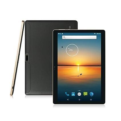10,1 Tablet Android, 3 G Dual de Ranuras de Tarjeta SIM, procesador Octa Core, 2 GB DDR3, 32 GB de Memoria, Apoyo Netflix Youtube GPS Negro