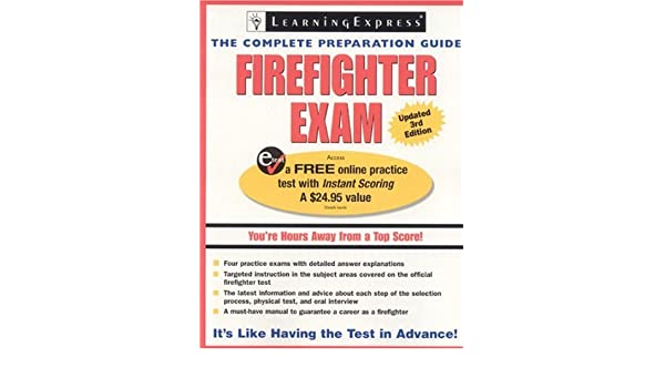 Firefighter Exam The Complete Preparation Guide Learning Express