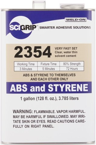 SCIGRIP Weld-On #2354 Adhesive, Gallon by Weldon (Image #2)