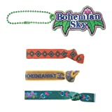 Aikatsu! Rubber Charm & hair rubber breath Bohemian Sky Set