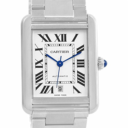 Cartier Tank Solo automatic-self-wind mens Watch W5200028 (Certified Pre-owned)