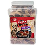 Purina Alpo Tbonz  Filet Mignon Flavor Dog Treats – 40 Oz. Canister Review