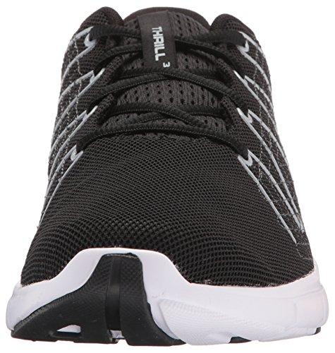 Under Armour Mens Loopschoenen Loopschoenen, Onder Andere Sensatie 3, Zwart (zwart / Wit)