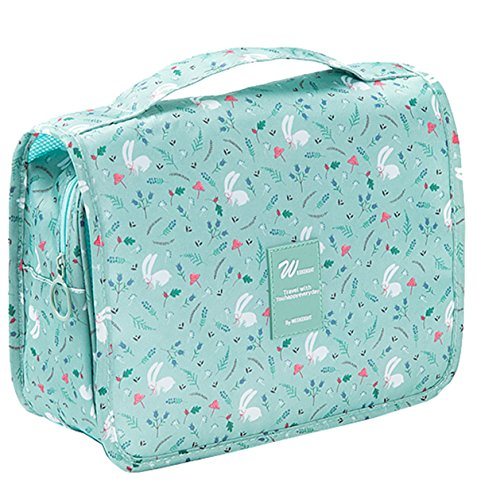 57b3b7f675 SupaModen Women s Travel Toiletry Bag Overnight Wash Gym Shaving Bag Travel  Folding Make up Bags with Hook Organizer Bags Cosmetic Bags Travel Folding  Make ...