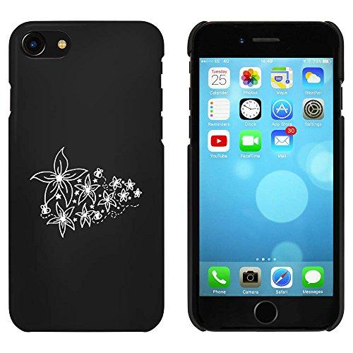 Schwarz 'Blumen & Bienen' Hülle für iPhone 7 (MC00062579)