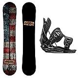 snowboard package - Package-Camp Seven Drifter CRCX Snowboard-159 cm-Flow Alpha MTN Snowboard Bindings-Large