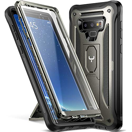 san francisco 1ecbf ce0a1 YOUMAKER Kickstand Case for Galaxy Note 9, Full Body with - Import It All