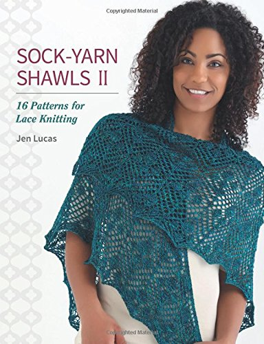 Sock Yarn Shawls II Patterns Knitting product image