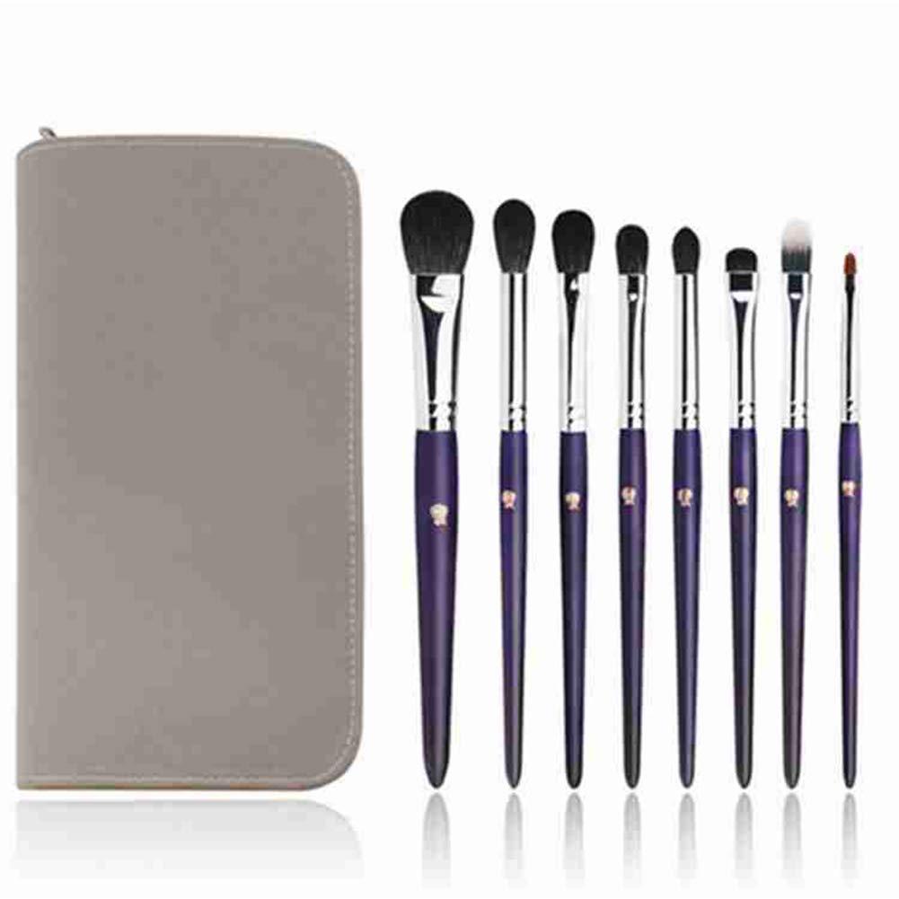 Professional High-grade Animal Hair Makeup Brush Full Set of Eye Shadow Brush Combination by Brush makeup