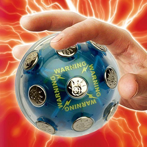 Adventure Funny Toy Electronic Shock Ball Shocking Hot Potato Game Novelty Gift Fun Joking For Party Christmas by ThinkTop by ThinkTop
