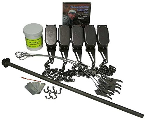 F&T Dog Proof Raccoon Trapping Starter Kit Bundle by F&T Fur Harvester's Trading Post
