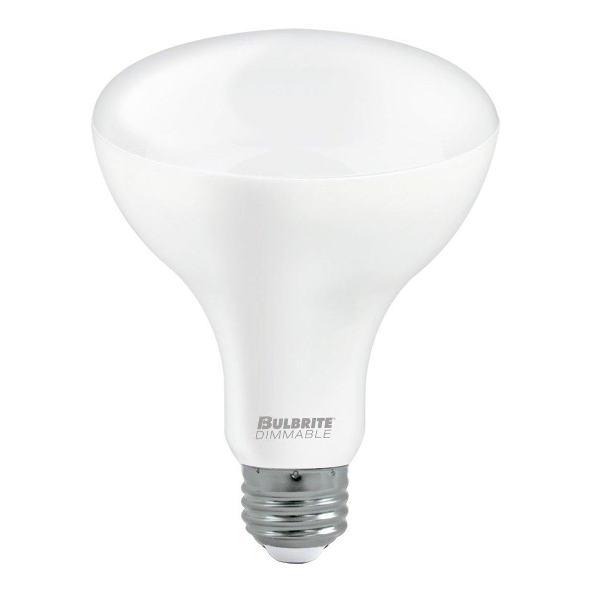 Bulbrite 772833 LED12BR30//827//D//3 LED 12W BR30 Light Bulb E26//Medium Base Warm White