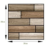 comfi1 3D Self-Adhesive Panels Decal Wallpaper Peel and Stick Wall Tile for Kitchen Backsplash