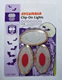 Sylvania Clip-on Lights for Safety During Trick-or-treat At Halloween