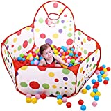 Toyshine Colorful Kids Play Zone Tent, Multi Color (Balls Not Included)