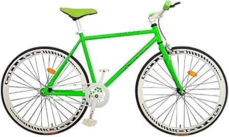 2Fast4You Fixie - Bicicleta de piñón fijo (28