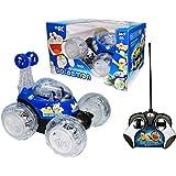 Play Design New (DORAMAN) Stunt Racer Remote Control Car RC 360' Rotating Car for Kids,