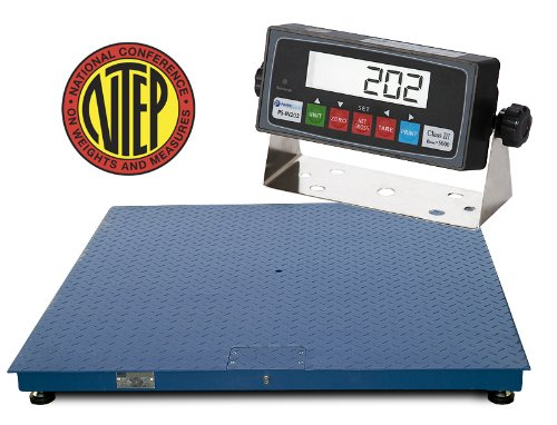 Floor Scale Trade (Certified NTEP 2500lb/0.5lb 36x36 Legal For Trade Floor Scale with Indicator)