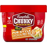 Campbell's Chunky Pub-Style Chicken Pot Pie Soup Microwavable Bowl, 15.25 oz.
