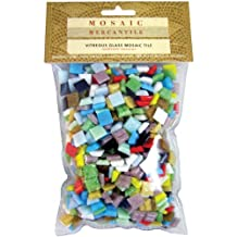 """Authentic Glass Mosaic Tiles - Assorted Colors - 3/8"""""""