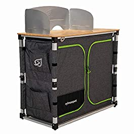 SylvanSport Outdoor Camp Kitchen System for Easy Cooking, Clean Up, Camping Meal Prep, Glamping and Camping Essentials…