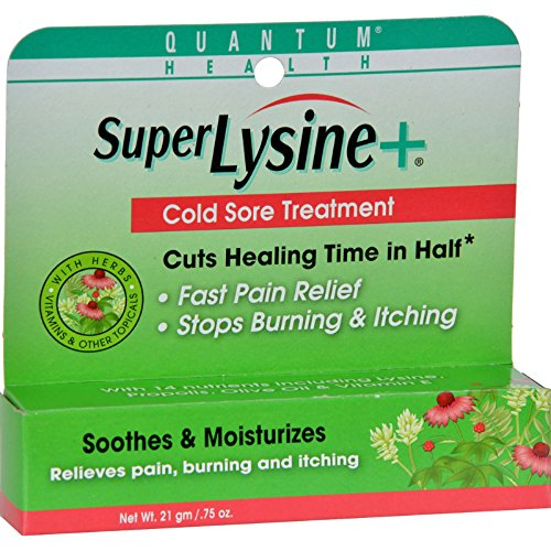 Quantum SuperLysine Plus Cold Sore Treatment - 0.75 oz by Quantum Research