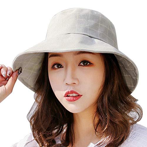 SERYU Fisherman Hat Women's Hat Comfortable Basin Hat Casual Visor Collapsible Cap Green