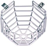 Safety Technology International, Inc. STI-9605 Steel Web Stopper, for Mini Smoke Detectors, Surface Mount, Protective Coated Steel Wire Guard