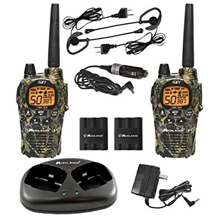 Amazon.com: Midland gxt1050vp4 Dos 2 Way Radio Walkie Talkie ...