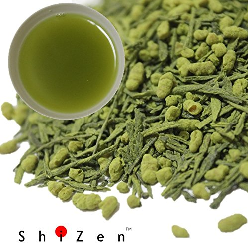 Organic Genmaicha Green Tea with Matcha Loose Leaf from Japan - ShiZen Tea (Brown Rice Tea Loose Leaf compare prices)