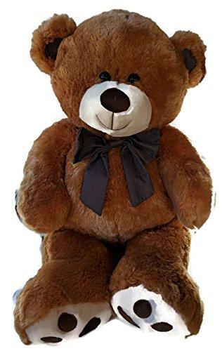 Large Stuffed Golden Brown Teddy Bear Plush ()